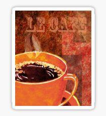 Le Cafe Decor Sticker