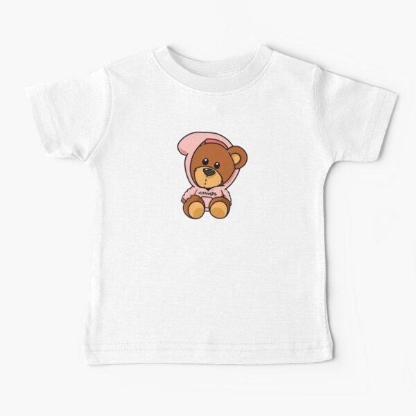 Bieber Bear pink design Baby T-Shirt