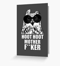 Hoot Hoot Greeting Card