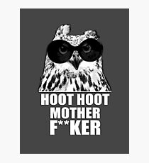 Hoot Hoot Photographic Print