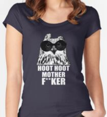 Hoot Hoot Women's Fitted Scoop T-Shirt