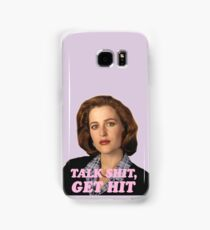 Dana Scully Sticker Samsung Galaxy Case/Skin
