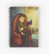 Reading stories Spiral Notebook