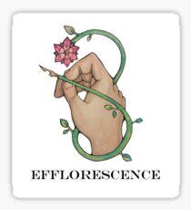 Efflorescence Sticker