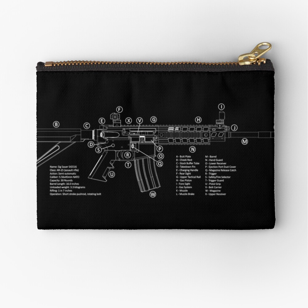 AR-15 Technical Information | Zipper Pouch