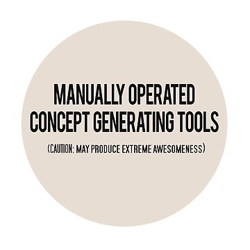 Manually Operated Concept Generating Tools - Peach by dikore