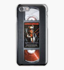 Terminator vhs by Arnold Schwarzenegger 1984 iPhone Case/Skin