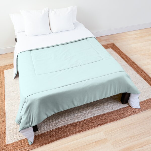 Abquisolute Tranquil | Solid Color | Accent Color Comforter