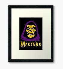 Masters - Misfits Framed Print