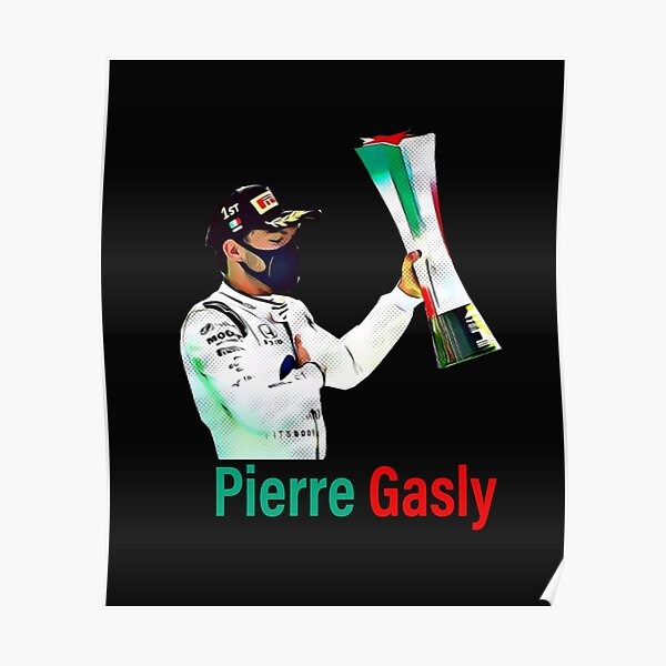 Pierre Gasly Poster