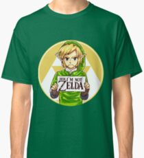 Dude, I'm Not ZELDA! Classic T-Shirt