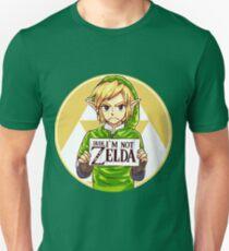 Camiseta ajustada ¡Amigo, no soy ZELDA!
