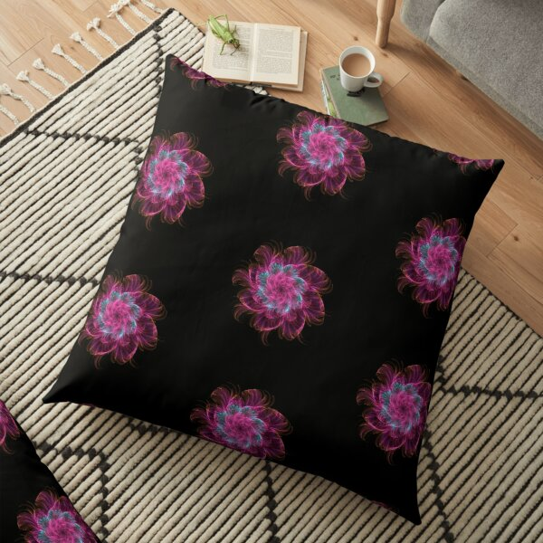Fractal Flower - 02 Floor Pillow