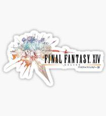 Final Fantasy XIV Logo Sticker