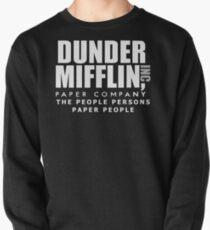 Dunder Mifflin Die Menschen Personen Papier Menschen Sweatshirt