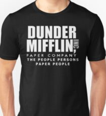 Dunder Mifflin The People Persons Paper People T-Shirt