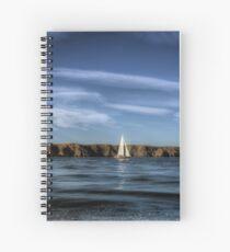 Alderney Sailing 2  Spiral Notebook