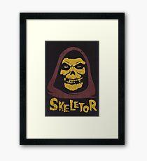 Skeletor - Misfits Framed Print