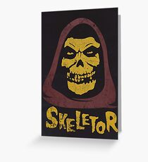 Skeletor - Misfits Greeting Card