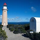 Cape De Coeudic Rd Lighthouse by Paul Barnett