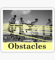 Obstacles Sticker