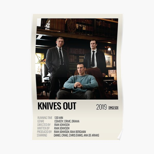 Knives Out (2019) movie poster Poster