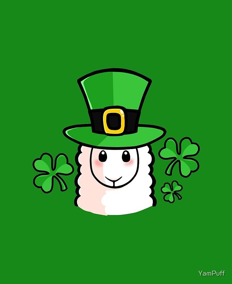 "St Patrick's Day Llama"" iPad Case & Skin by YamPuff | Redbubble"
