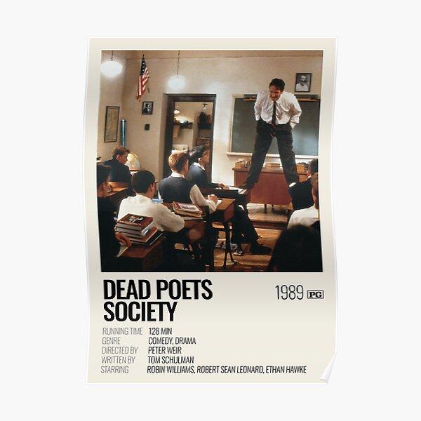 Póster de película Dead Poets Society (1989) Póster