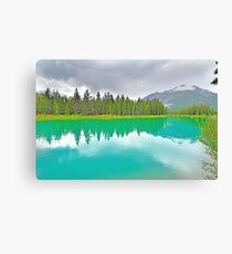 Bow River, Banff, Alberta, Canada Canvas Print