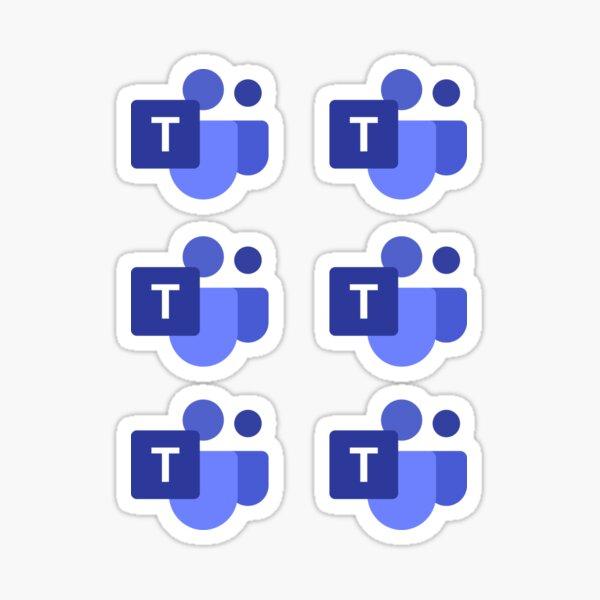 Microsoft Teams 6 in 1  Sticker