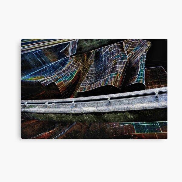Monorailed Canvas Print