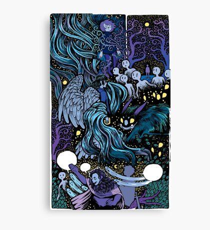 Mashup Canvas Print