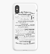 The Office: Dwight's Perfect Crime iPhone Case