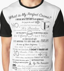The Office: Dwight's Perfect Crime Graphic T-Shirt