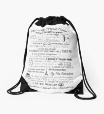 The Office: Dwight's Perfect Crime Drawstring Bag