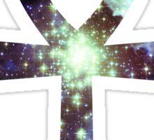 Kid Cudi Galaxy   Star Forming Region NGC-3603 [Blue]   Ankh Sticker
