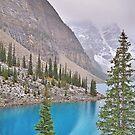 Moraine Lake, Fall-Alberta, Canada by Laurast