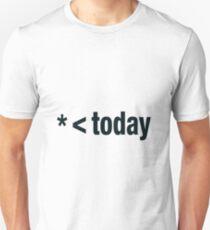 BIGGER today - Black&White Unisex T-Shirt