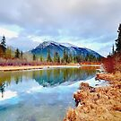 Policeman's Pond Canmore, Alberta, Canada by Laurast