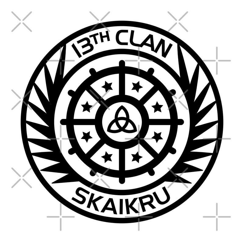 Clan Skaikru Posters Badcatdesigns