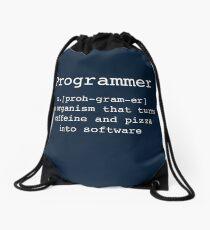 Programmer Drawstring Bag