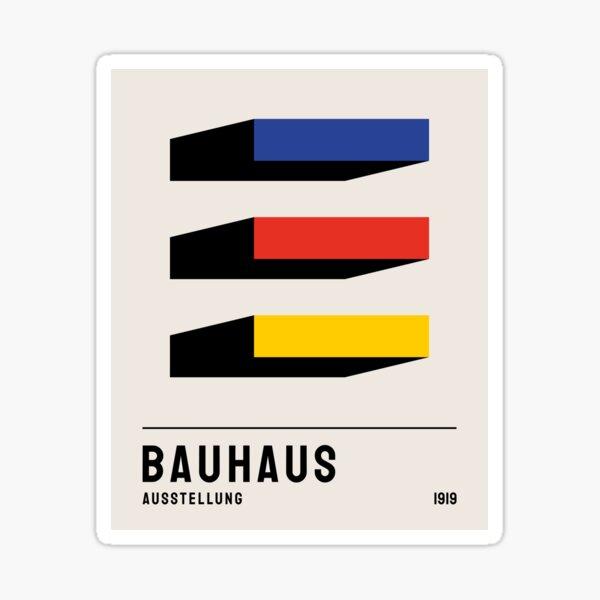 After Bauhaus Exhibition Poster 1919 B13 Sticker