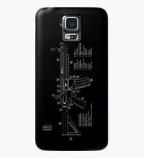 AR-15 Technical Information Case/Skin for Samsung Galaxy