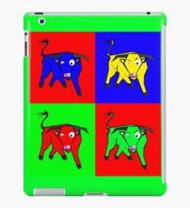 bull warhol like iPad Case/Skin