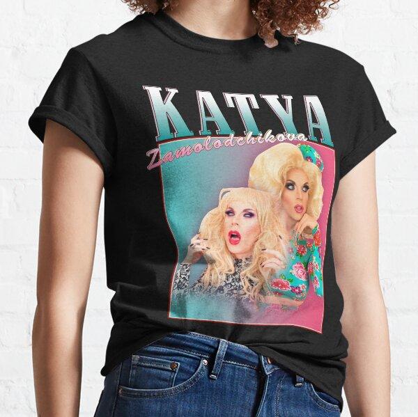 Katya Zamolodchikova vintage design merch Classic T-Shirt