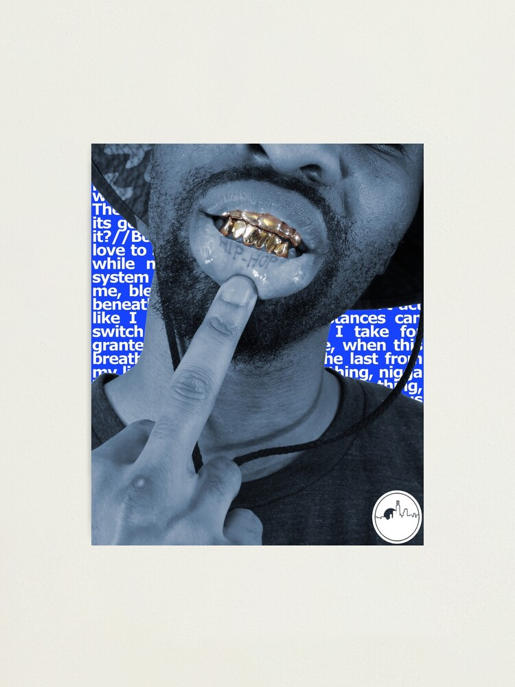 Alternate view of B8gie Foo' Hip Hop Photographic Print