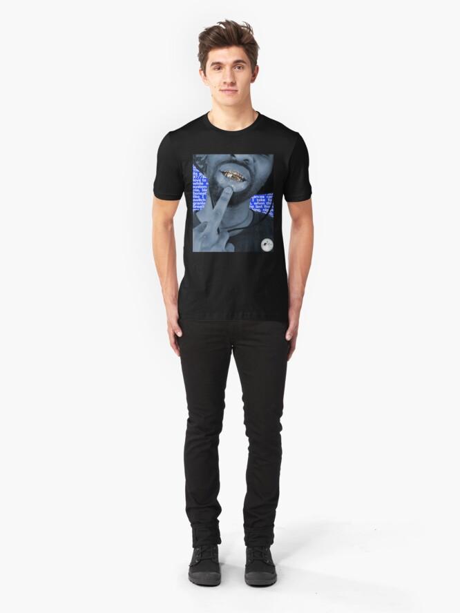 Alternate view of B8gie Foo' Hip Hop Slim Fit T-Shirt