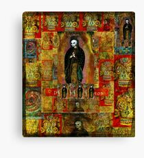 Day of the Dead VIRGIN MARY Madonna Canvas Print