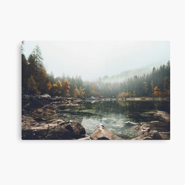 Lake serenity landscape photography Canvas Print