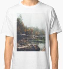 Lake serenity landscape photography Classic T-Shirt